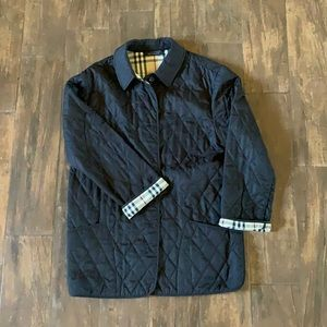Burberry Authentic quilted barn coat